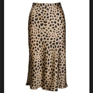 Realisation Par Naomi Skirt in Leopard AUTHENTIC